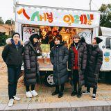 GOT7變身一日店長,推出濟州島限定小餐車