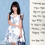 Tiffany写亲笔通道歉:「抱歉让大家失望了」