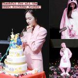冰山公主化身粉紅袋鼠,Jessica生日Party跳0.7倍速舞蹈超可愛!