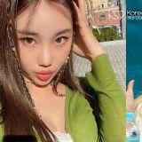 人氣女團 MOMOLAND 成員 JooE 自拍臉變超成熟嫵媚~!網友:她是誰?