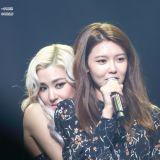 秀英和徐玄友情助陣Tiffany演唱會,合唱少女時代《那個夏天》和《再次重逢的世界》!