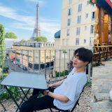【多图】BTS防弹少年团Jimin巴黎旅行照片大公开!