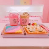 【首尔cafe】粉色系咖啡厅又+1啦!外大附近的Melting Pom♥