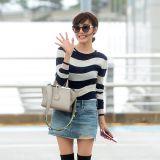 少女時代Tiffany時髦亮相 高筒靴穿出新潮度