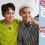 被EXO燦烈邀請去看演唱會的「EXO忙內經紀人」張聖圭,開心發文:「燦烈不是人類是天使!」