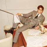 《Jugglers》崔丹尼爾&白珍熙情侶畫報公開 拍攝現場上演辦公室的誘惑!?