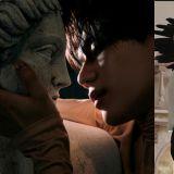 「親吻石膏像」在不少影視作品看到:其中金材昱這一吻太勾人了~