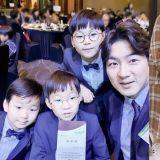 大韩民国万岁三胞胎近照公开:只有个子长高,脸蛋还是那么可爱!