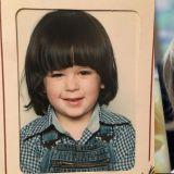 Sam童年时期的颜值不输儿子威廉!父子俩祖传发型齐浏海