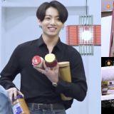 《I-LAND》在食物间超兴奋的BTS柾国!成员们还准备了改良韩服、签名鞋、拍立得等礼物给练习生!