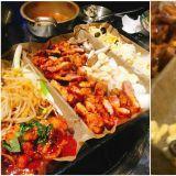 【首尔必吃】炭烤排骨、辣炒章鱼、起司泡菜炒饭、辣烤鸡爪:超豪华组合一次上菜~