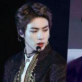 BTS防弹少年团Jin不同阶段妆容的变化:不同的气质仍是帅气满满♥