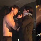 《黑道律師文森佐》玉澤演威脅郭東延的氛圍太好,導演建議拍成KISS戲!