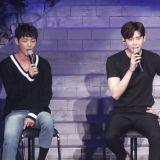 李鍾碩、丁海寅、申載夏一起演唱《當你沉睡時》OST 想必那時候還練得不太熟~