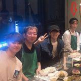 男團Boyfriend解散後的飯局中,驚見陸星材一起用餐?