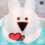 31冰淇淋新蛋糕出爐!超可愛的Over action兔子
