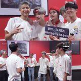 朴寶劍與BTS防彈少年團在香港場演唱會後台相見!V:「哥票是跟誰說的啊?」朴寶劍:「我買的!」
