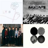 美國billboard本周world album前十名,有六名都是韓國專輯!