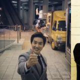 EXO忙内世勋为队长SUHO应援《Rich Man》!数一数应援餐车…居然有六辆!