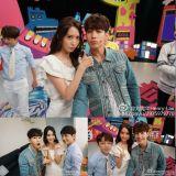 SJ-M Henry分享与少时润娥合照:没想到她的中文会那么好