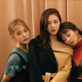 Red Velvet最新雜誌畫報公開,耐看的氣質女神!