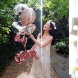 「女神」崔智友曬出自己懷孕9個月的照片和親筆信!手裡拿著的氣球,透露了寶寶的性別!