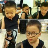 宋一國公開三胞胎大韓、民國、萬歲夏日短髮新造型