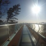 釜山必拍的天空步道之一:影島!