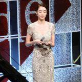 崔汝珍穿透視裙優雅出席2015超模大賽