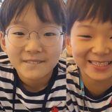 時間過太快了!宋家三胞胎都10歲了,笑臉為姨母粉送夏日清涼