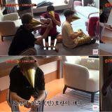 《新西游记5》起床任务「一睁眼就高帽高帽」顺手偷了姜镐童餐卷的宋旻浩 XD
