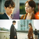 tvN新劇《鬼怪》李棟旭、劉仁娜天橋上的偶遇劇照公開