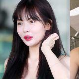 被质疑丰唇的泫雅这次晒出了素颜照,韩国网民看完这么说...
