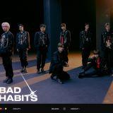 CRAVITY 11 日携后续曲〈Bad Habits〉回归 抢先释出暗黑概念照!