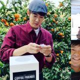 孫浩俊的「超級摯友」來啦!允浩參與《Coffee Friends》第2次節目錄製,以兼職生的身份加入!