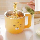 Kakao Friends推出Ryan煮泡麵&蒸蛋小電鍋,還有方便外出攜帶的「摺疊式熱水壺」!