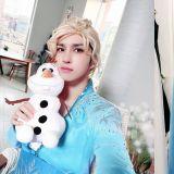 VIXX Ken超愛Elsa公主~♥特訂製男裝禮服Cos全套!網民:一看就很貴,但很想買XD