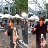 BTS防弹少年团「弟弟Line」Jimin、V、柾国「瓶盖挑战」影片公开!来看看成员们拍摄的影片吧~