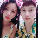 雪炫&金希澈合作广告 猫耳自拍超萌! 然而广告本身简直有毒XDD