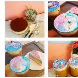 【弘大必吃】又是弘大!超夢幻的宇宙風彩虹蛋糕,連商品名稱都讓人好喜歡