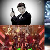 偶像團體必有的舉槍舞蹈動作就是帥!補充遺漏第二彈~!!!