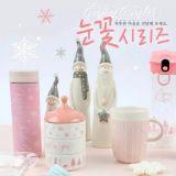 「韓國大創」聖誕節雪花系列商品!有杯子、文具、蠟燭等,超適合拿來交換禮物啊!