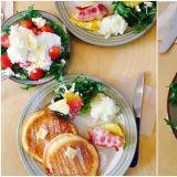 【弘大必吃】弘大超人氣早午餐店,季節限定蜂蜜草莓起司優格超推薦~