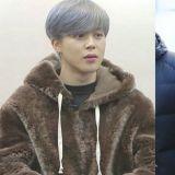 EXO KAI&BTS防彈少年團JIMIN竟然穿了情侶裝,這是爸爸熊VS熊寶寶嗎?