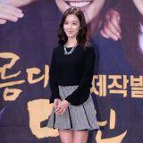 李素妍優雅亮相《美麗的你》發佈會 詮釋未婚媽媽
