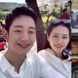 「請漂亮姊姊吃飯」丁海寅為在拍攝《愛的迫降》的孫藝真送上應援餐車!還寫著:「TwoLi Couple Fighting!」