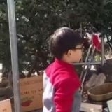 長大了的小小男子漢! 大韓街邊烤紅薯