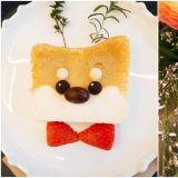 【江南cafe】小動物控一定很喜歡:超可愛柴柴蛋糕你捨得吃嗎?