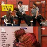 《又吴海英》浪漫KISS在《SNL Korea》变成爆笑滚筒之吻