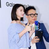 朴明秀&Hello Venus娜拉&李末年出席三星發佈活動